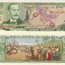 Costa Rica banknote 1983 5 colones UNC--RARE DATE
