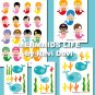 MERMAIDS LIFE cut out PRINTABLE DESIGN 16050. Send to your email
