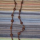 Brown Nut Necklace