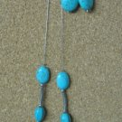 Turquoise & Sterling Necklace Set