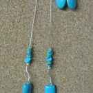 Turquoise & Sterling Necklace Set - 2