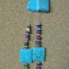 Turquoise & Shell Necklace Set