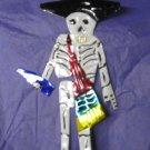 Skeleton Ornament - Tin