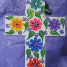 White Wooden Cross - Large