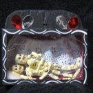 Dia De Los Muertos Box - Skeleton Couple in Bed