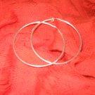Sterling Silver Hoops - Medium