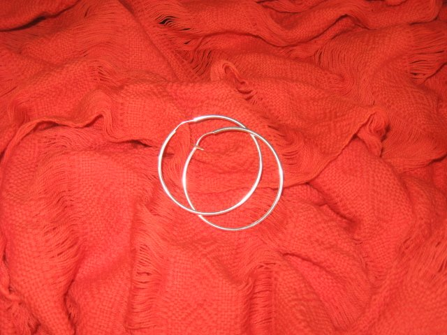 Sterling Silver Hoops - Small