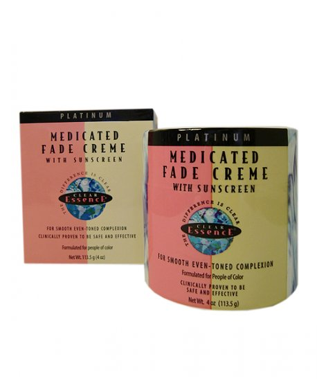 Medicated Fade Cream with sunscreen