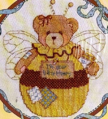 QUICK FINISH CROSS STITCH KIT CHERISHED TEDDIES ROLY POLY JUNE BEE