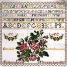 RARE ROSENSTAND REPRODUCTION SAMPLER CROSS STITCH KIT WAEVER