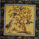 RARE TRADITIONAL TREE OF LIFE TAPESTRY NEEDLEPOINT PILLOW KIT