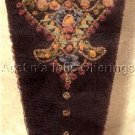 BAROQUE SCISSORS CASE SILK RIBBON EMBROIDERY KIT VICTORIANA
