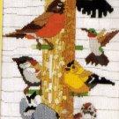 RARE BIRD WATCHER NEEDLEPOINT LONGSTITCH KIT REINARDY THE FEEDER
