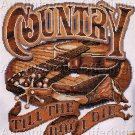 COUNTRY FOLK COUNTED CROSS STITCH KIT GUITAR SPURS