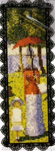 FINE ART REPRODUCTION CROSS STITCH KIT BOOKMARK SUNDAY AFTERNOON 2