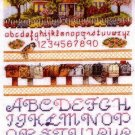 SPRINGTIME COTTAGE US MAIL BOX CROSS STITCH SAMPLER KIT