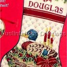 RARE AMERICAN GREETINGS MERRY MALLARD NEEDLEPOINT CHRISTMAS STOCKING KIT