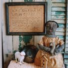 PRIMITIVE FOLK ART BLACK MAMMY DOLL PATTERN CHART MABEL