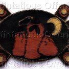 PRIMITIVE HALLOWEEN THANKSGIVING FOLK ART PATTERN CHART FELT EMBROIDERY 'PUNKIN GATHERIN'