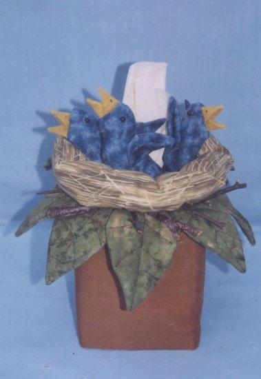 BIRD NEST TISSUE BOX COVER PATTERN