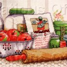 SHARON PEDERSON COUNTRY KITCHEN NOSTALGIC CROSS STITCH KIT