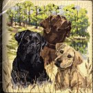 RARE ROSSI HUNTING DOGS LABRADOR RETRIEVER NEEDLEPOINT PILLOW KIT