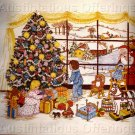 RARE VERES CHRISTMAS MORNING CREWEL EMBROIDERY KIT WINDOW WATCHING