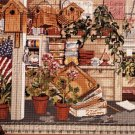 RARE SLOANE GARDENER'S SHED NEEDLEPOINT KIT HOBBY GREENHOUSE