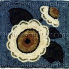 PRIMITIVE HOOK RUG KIT HEART TO HAND CAMELLIA FLORAL