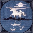LONGSTITCH NEEDLEPOINT KIT REFLECTING UNICORN