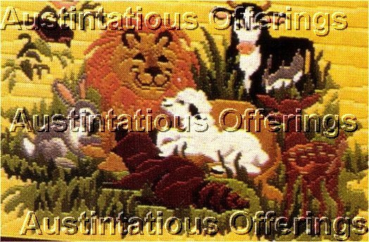 PEACEFULL KINGDOM  LONG STITCH KIT