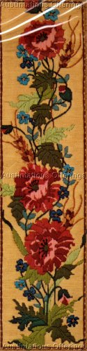 POPPIES AND WHEAT PIC LONGSTITCH NEEDLEPOINT KIT