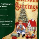 RARE LECLAIR VINTAGE DOLL BABY CHRISTMAS TOYS NEEDLEPOINT STOCKING KIT GIRL