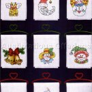 HOLIDAY CROSS STITCH MINI BANNERS SET KIT CHRISTMAS FUN