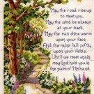 Inspirational Irish  Blessing Sampler Cross Stitch Kit Kratz May the Road Rise