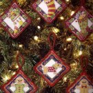 Mary Englebreit Cross Stitch Christmas Ornaments Set Cross Stitch Kit