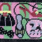PREASSEMBLED SHOES AND PURSES COIN PURSE NEEDLEPOINT CASE KIT