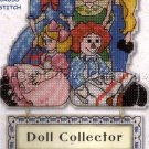 COLLECTION OF DOLLS WHIMSEY SAMPLER SIGN DOLL COLLECTOR CROSS STITCH KIT
