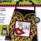 WILD LEAPARD PRINT PURSE PERSONALITY CROSS STITCH KIT
