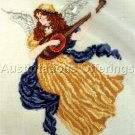 Renaissance Herald Angel Counted Cross Stitch Kit Lute