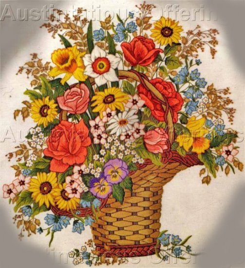 Exquisite Summer Roses Floral Crewel Embroidery Kit Adele Veres