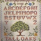 Rare LeClair Needlepoint Sampler Kit Little Acorns Verse Elsa Williams
