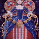 Christmas Spirit Angels Bead Cross Stitch Kit Brookes Books America