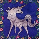 Medieval Tapestry Unicorn Longstitch Needlepoint Kit Cluny Flowers