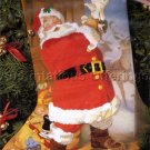 RARE SUNDBLOM HALLMARK SANTA CREWEL EMBROIDERY STOCKING KIT CHRISTMAS EVE