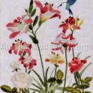 Rare Elsa Williams Floral Crewel Embroidery Kit Foret Spring Flowers Hummingbird
