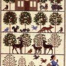 Rare Prairie Schooler Appleseed Folk Art Cross Stitch Kit John Chapman