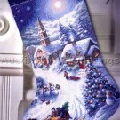 Nicky Boehme Christmas Sleigh Ride Cross Stitch Stocking Kit