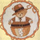 CROSS STITCH KIT ROLY POLY CHERISHED TEDDY NOVEMBER