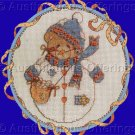 CROSS STITCH KIT ROLY POLY CHERISHED TEDDY JANUARY